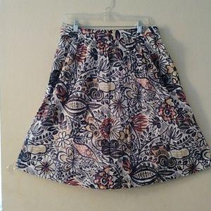 Wild flower Loft skirt